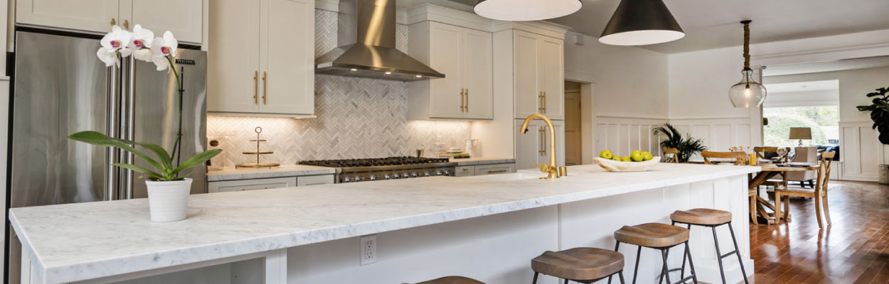 Custom kitchen and bathroom remodels in Santa Barbara